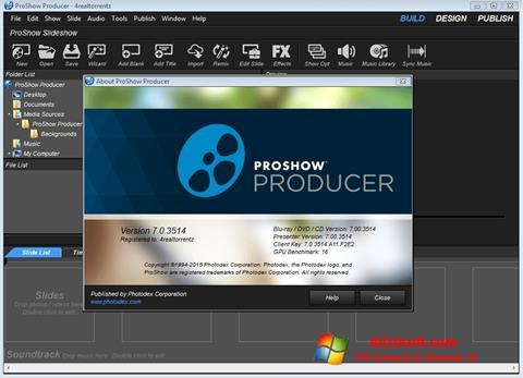 স্ক্রিনশট ProShow Producer Windows 10