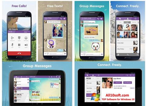 স্ক্রিনশট Viber Windows 10