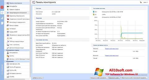 স্ক্রিনশট Kerio Control Windows 10