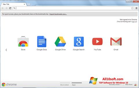 স্ক্রিনশট Google Chrome Windows 10